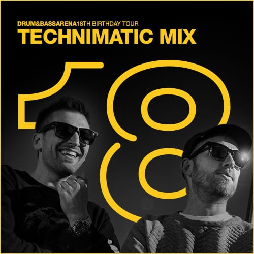 Drum&BassArena 18th Tour Australia – Technimatic Mix