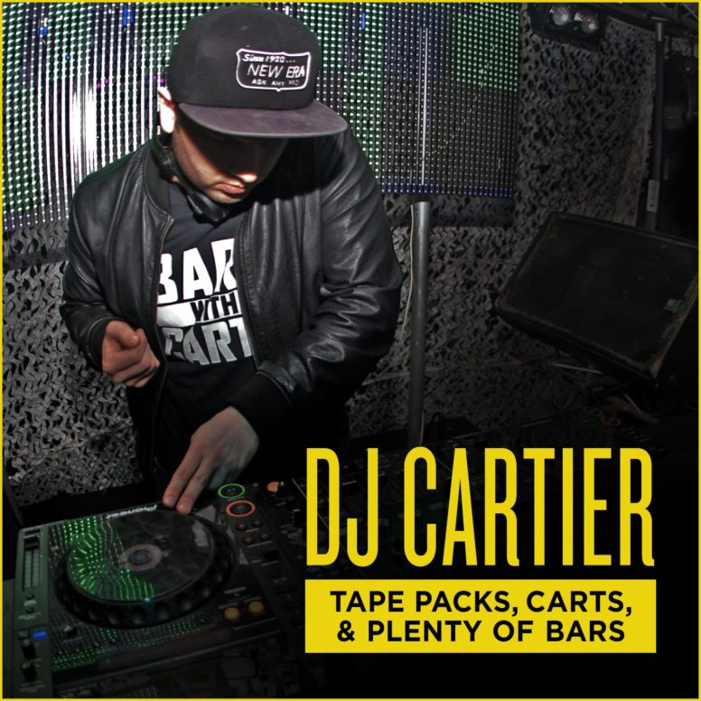 DJ Cartier – Tape Packs, Carts and Plenty of Bars