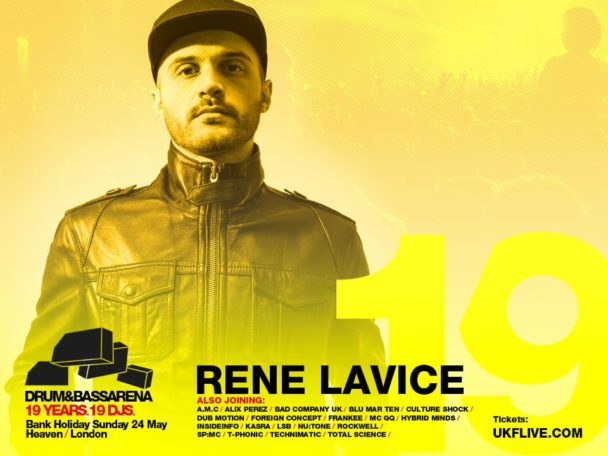 Drum&BassArena 19 Years: Rene LaVice