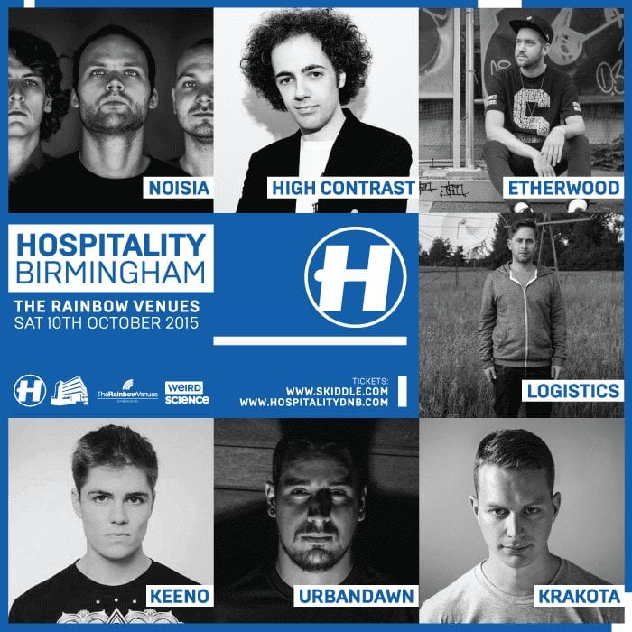 Feeling Hospitable with Noisia