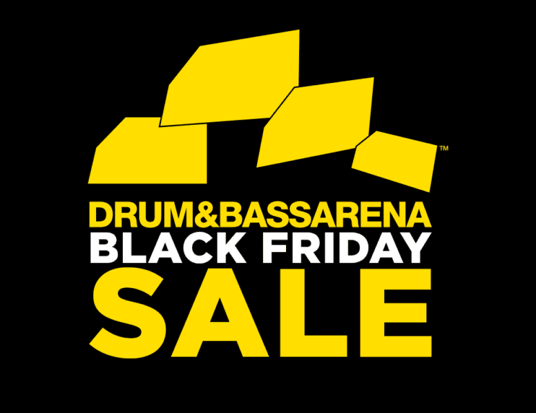 Black Friday sale: Up to 50% off clothing & music in the store.