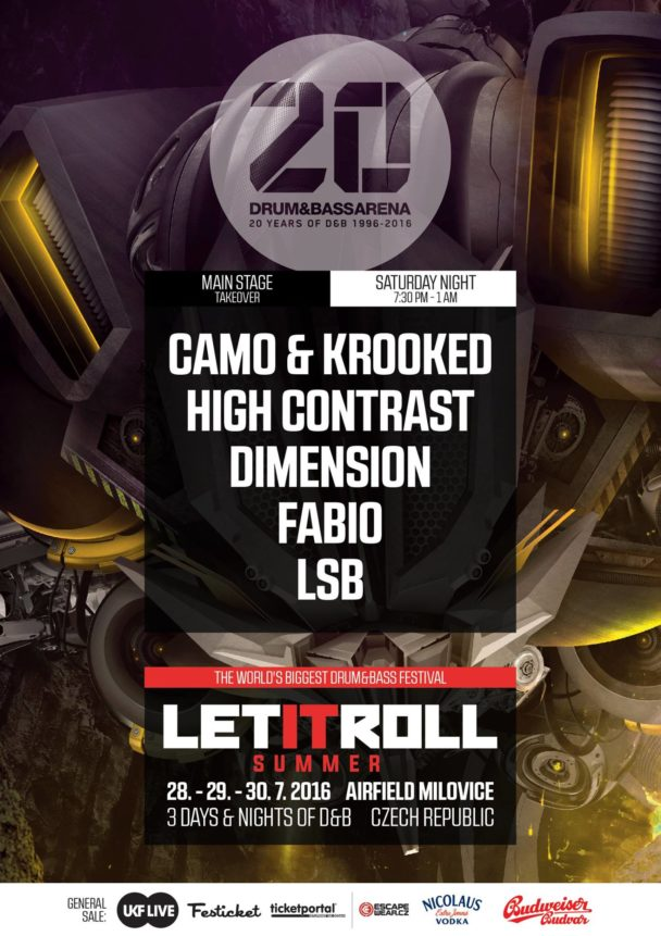 Let It Roll Summer | Drum&BassArena Main Stage Takeover