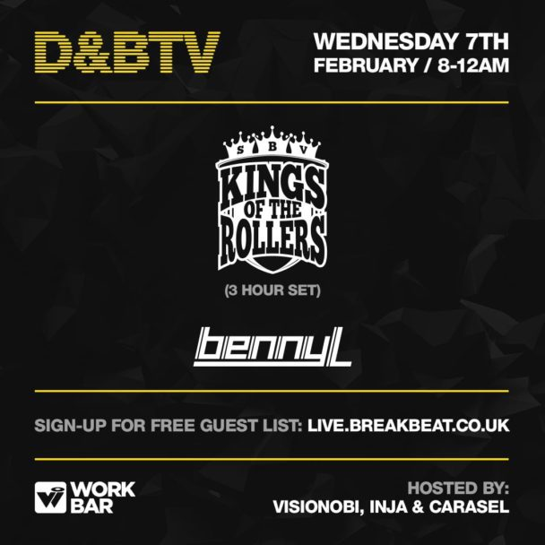 D&BTV – Kings Of The Rollers & Benny L