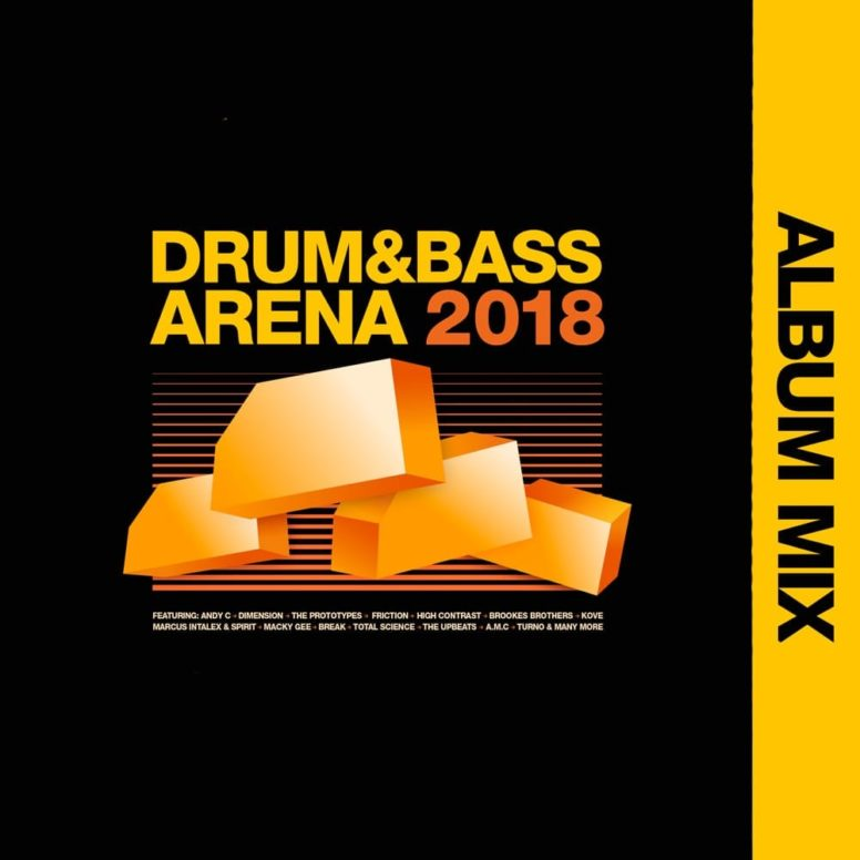 Drum&BassArena 2018 Album Mix